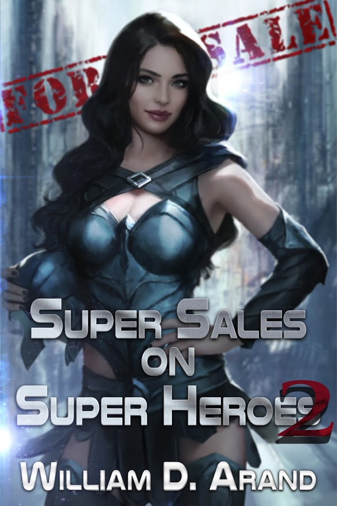 Super Sales on Super Heroes 2: Book is Live