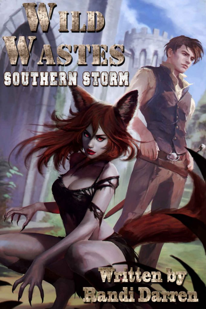 Wild Wastes - Souther Storm Book Cover